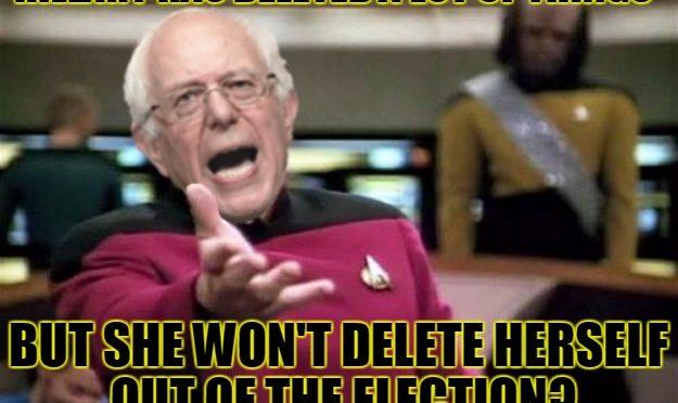 WTF Bernie Sanders