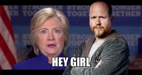 Joss Whedon's love note to Madam President Hillary has us wishing our eyes had a reset button