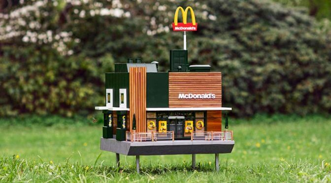 The Sweet Reason Behind the Worlds Smallest McDonalds Restaurant