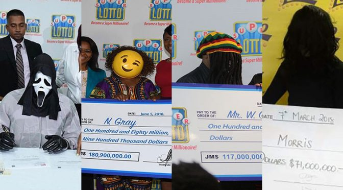 In Jamaica, Big Lottery Winners Get Costumes to Protect Their Identity