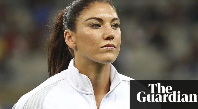 Hope Solo interview: 'I was told to shut my mouth and play soccer'