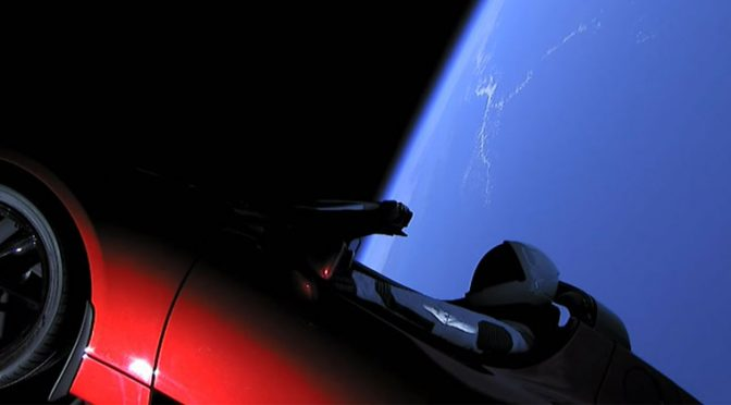 SpaceX Just Launched the Worlds Most Powerful Rocket and Sent a Tesla to Mars