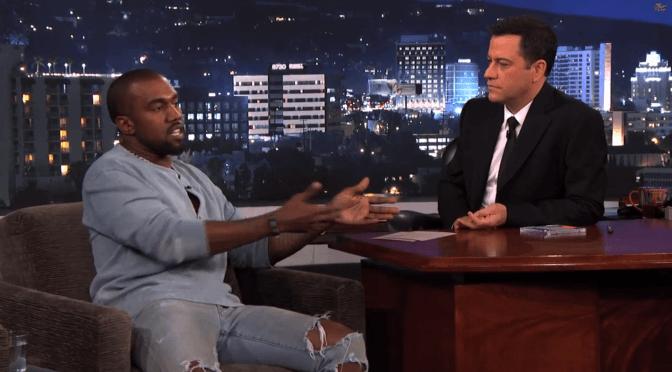 'Creative Genius' Kanye West Buries Twitter Hatchet With Jimmy Kimmel