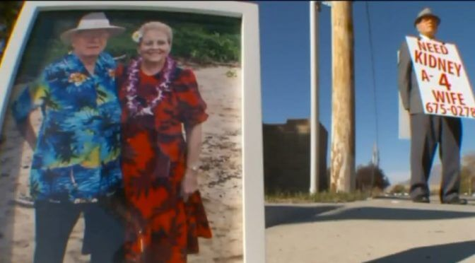 He Walked Miles To Get His Wife A Kidney, But When She Got One, He Kept On Going