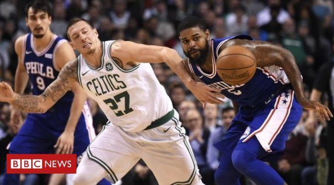 NBA global superstars bounce into the UK