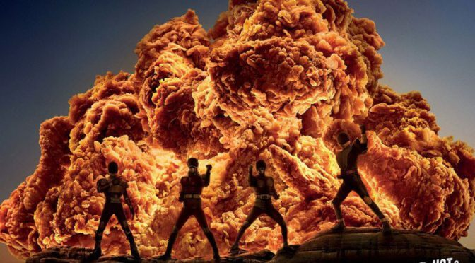 Giant, Fiery Explosions Only Its KFC Fried Chicken