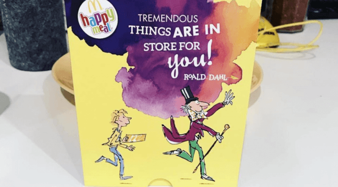 McDonalds Replaces Happy Meal Toys With Our Favorite Childhood Books To Encourage Kids To Read