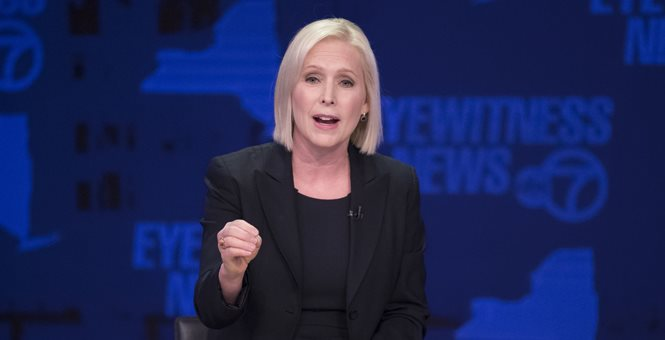 Don't tell Kirsten Gillibrand (who just announced for POTUS) but polls show that 'brave' might not win after all