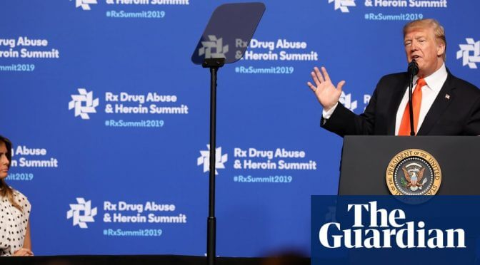 'Nothing is going to stop us': Trump touts progress in opioid crisis fight