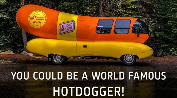 You Can Get Paid To Travel Across The United States In The Wienermobile