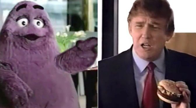 Old Trump McDonalds Commercial Gets Turned Into Pee-Tape Interrogation Session