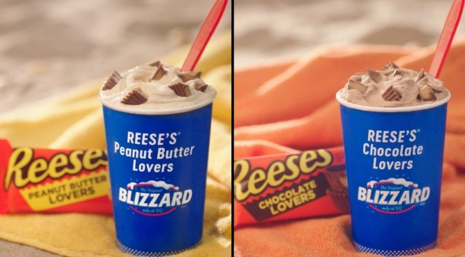 DQ's New Reese's Blizzards Will Have You Choosing Chocolate Or Peanut Butter