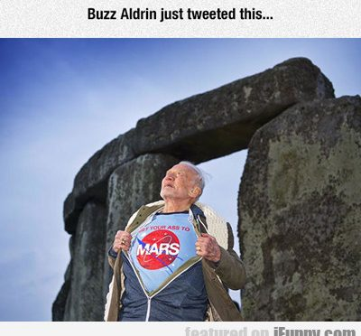Buzz Aldrin Just Tweeted This…