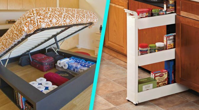 6 Genius, Space-Saving Tips for Apartment Dwellers