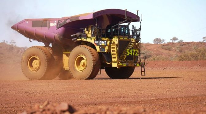 BHP to pay record dividend, despite profit slide; commodities drive ASX higher – ABC News