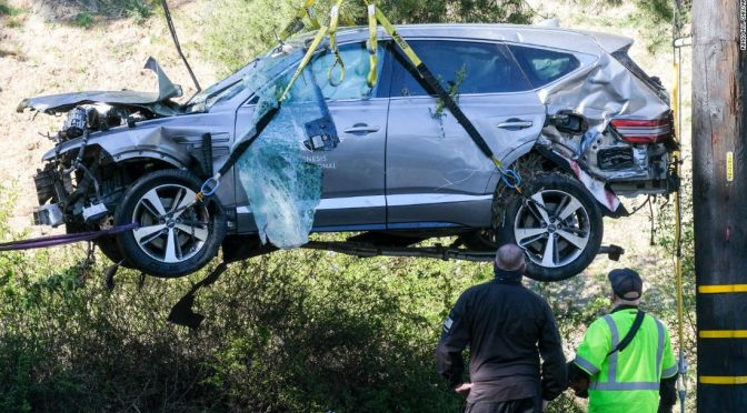 Cause of Tiger Woods's crash will be released today