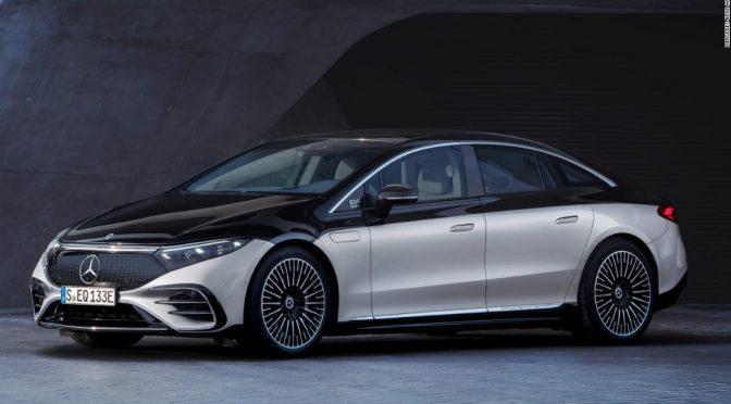 Mercedes' new electric car has a nap mode