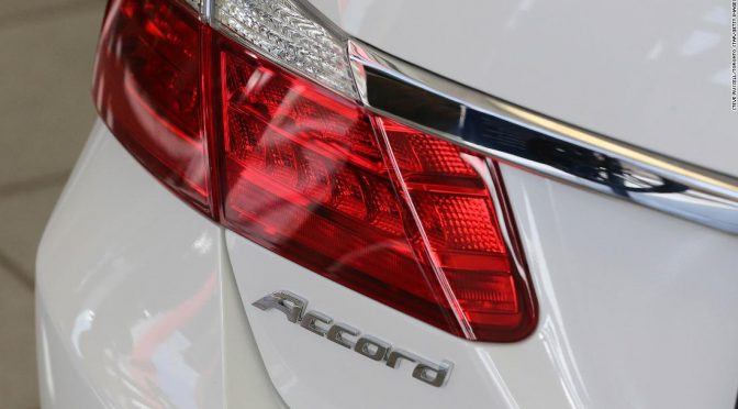 More than 1 million Honda Accords may have a steering problem. The US is investigating