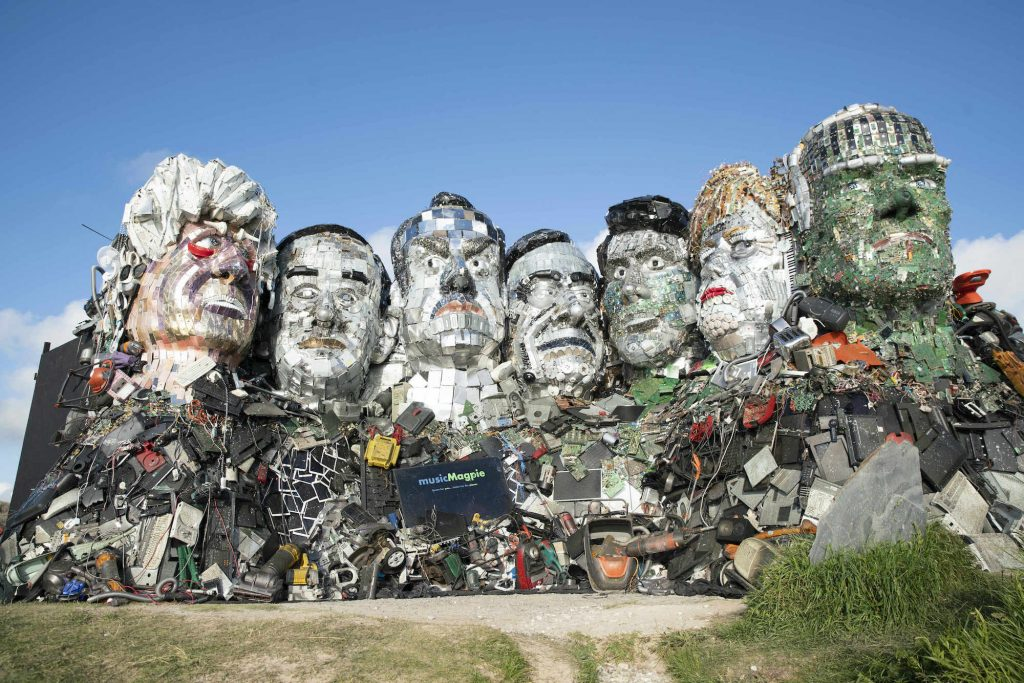 G7 Leaders, Welcome to Mount Recyclemore