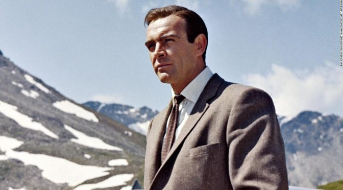 Behind the scenes of a famous James Bond shoot
