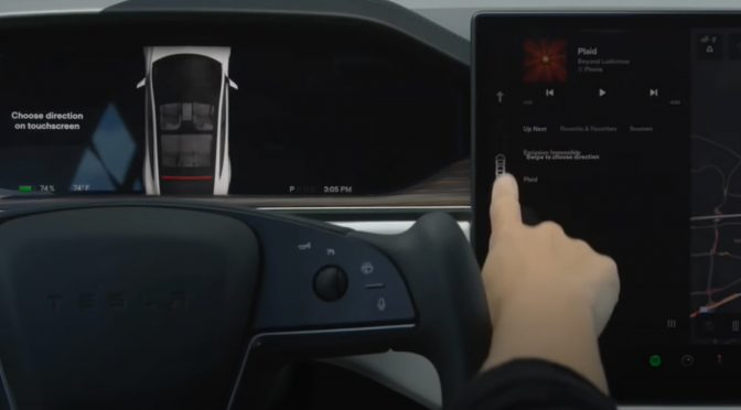 The Tesla Model S Plaid knows what direction you want to go. Here's how