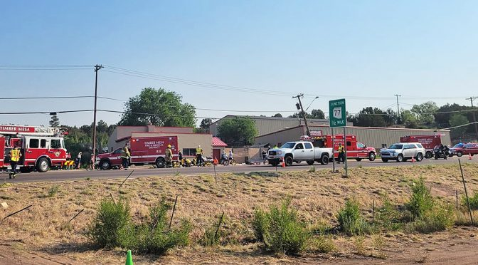 Arizona bike race: 10 injured after pickup truck slams group of bicyclists; suspect shot, police say