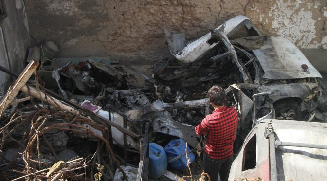 As the US Fled Kabul, Its Final Airstrike May Have Targeted an Innocent Man