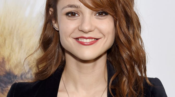 'Skins' Star Kathryn Prescott 'Lucky To Be Alive' After Getting Hit By Cement Truck