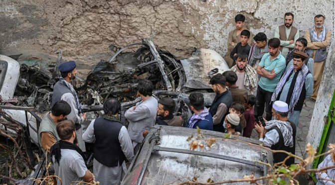 The US military needs to do more than apologize for its deadly 'mistake' in Kabul
