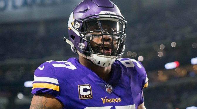 Vikings' Everson Griffen out with concussion after swerving car to miss deer