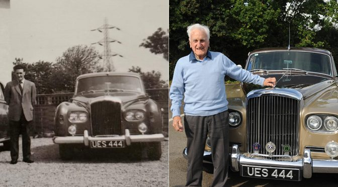 100-year-old gifted car he drove as a chauffeur in 1964